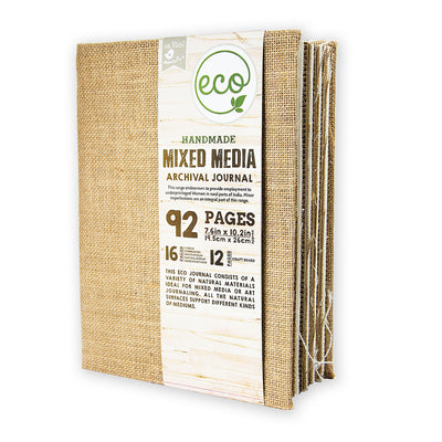 Mixed Media Archival Journal  - 7.6x10.2inch, 92pages, 1pc