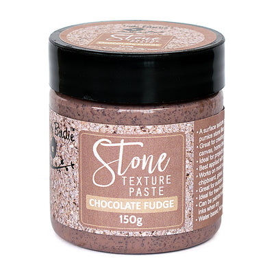 Stone Texture Paste - Chocolate Fudge, 150g, 1pc