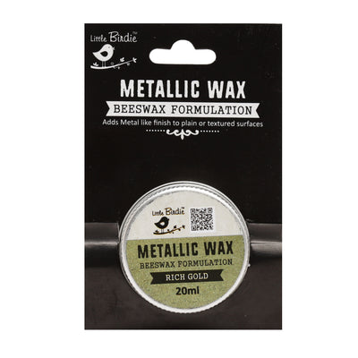 Metallic Wax - Rich Gold, 20ml, 1pc