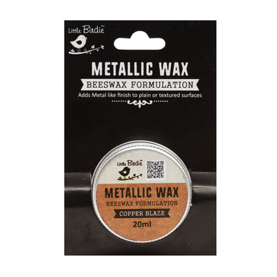 Metallic Wax - Copper Blaze, 20ml, 1pc