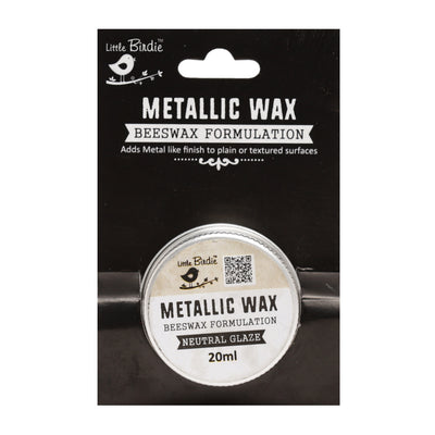 Metallic Wax - Neutral Glaze, 20ml, 1pc