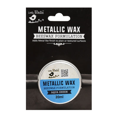 Metallic Wax - Aqua Sheen, 20ml, 1pc