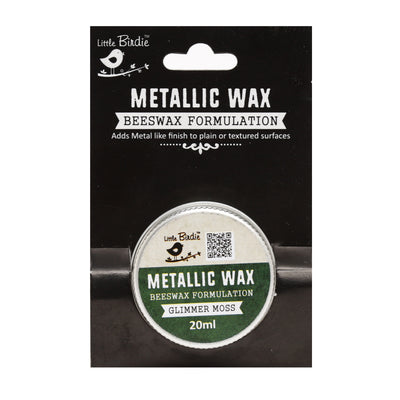 Metallic Wax - Glimmer Moss, 20ml, 1pc