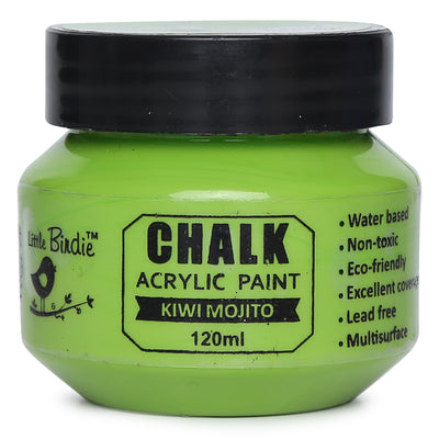Home Decor Chalk Paint 120ml - Kiwi Mojito