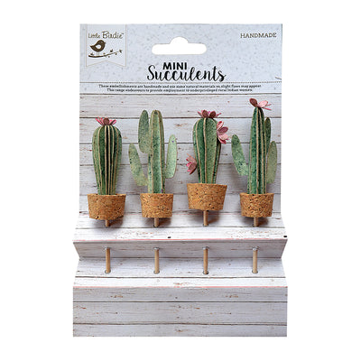 Cacti Glory Topper- 4 Pieces