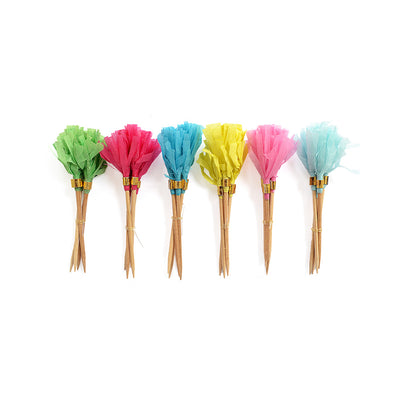 Cupcake Toppers - Colour Flare, 20Pcs