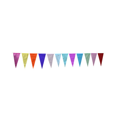 Tissue Paper Bunting With 25M Thread- 125Pc