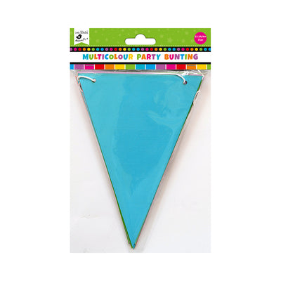 Multicolour Party Bunting With 4M Thread- 15Pc