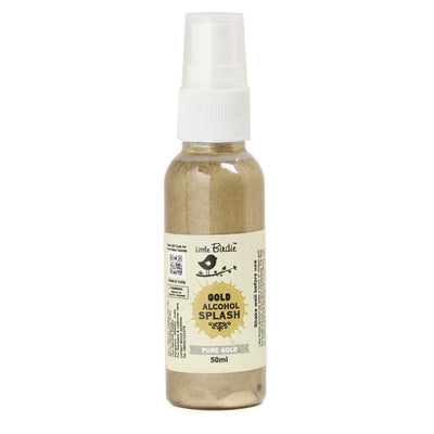 Gold Alcohol Splash 50 ml - Pure Gold