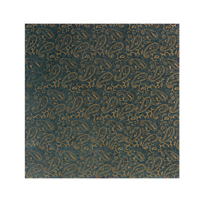 Pattern Paper  Paisley , Forest Green 12X12 inch, 1sheet