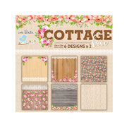 Cottage Lace Cardstock 12X12 inch, 12sheets
