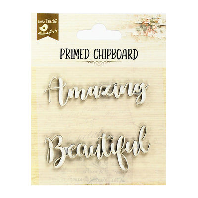 Primed Chipboard- Admiration