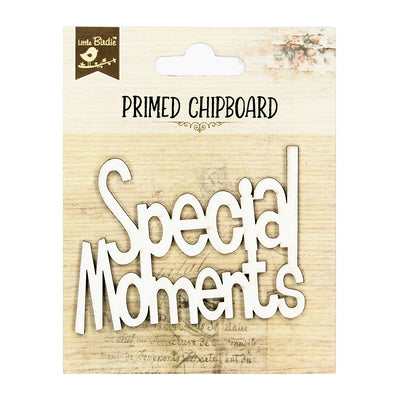 Primed Chipboard- Special Moments