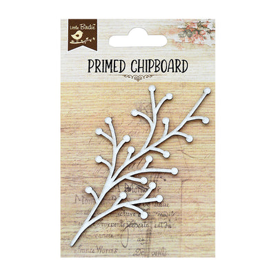Primed Chipboard- Wild Berry
