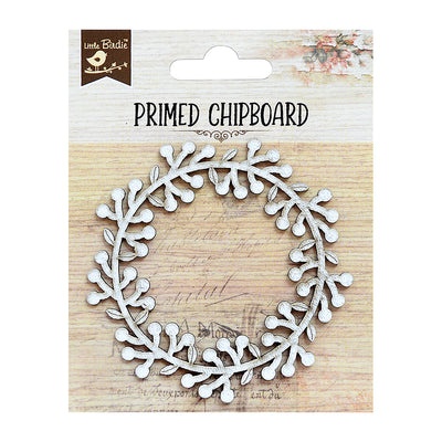 Primed Chipboard-Forest Wreath