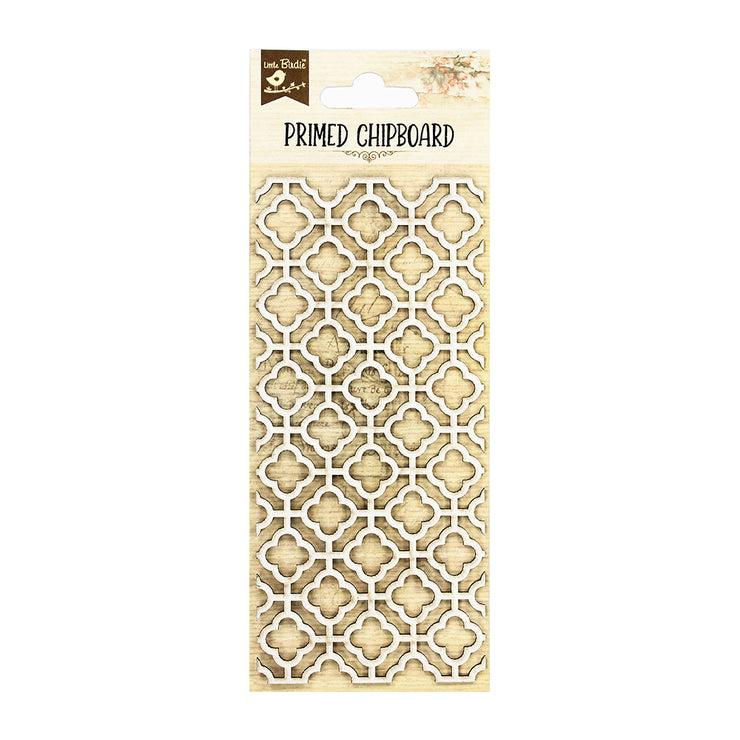 Primed Chipboard- Moroccan Mesh