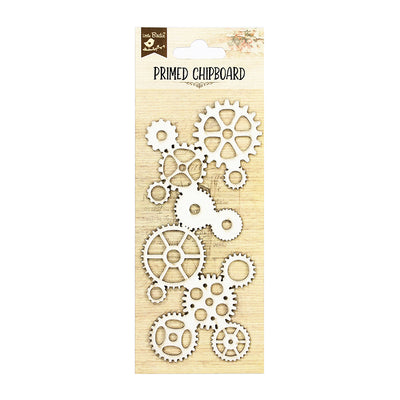 Primed Chipboard- Cogs