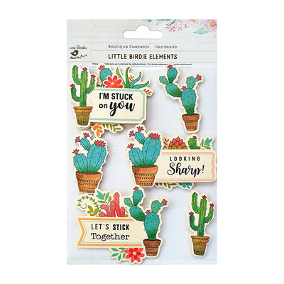 Sticker self- adhesive  - Cactus