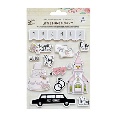 Sticker Self- adhesive  - Happily Married