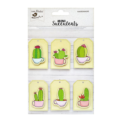 Sticker self- adhesive  - Cup- O- Cactus  Tags