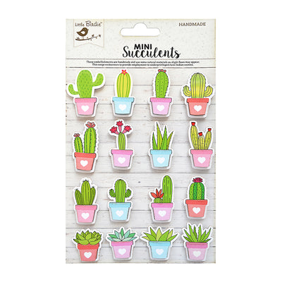 Sticker self- adhesive  - Cactus Pots