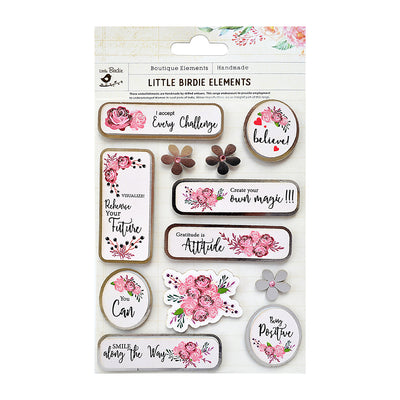 Sticker self- adhesive  - Believe and You Can,12pcs