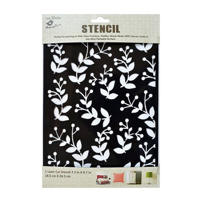 Stencil Berry Bounty- 7.3x 9.7Inch, 1 Piece