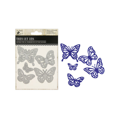 Thin Cut Dies - Butterfly Medley