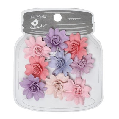 Handmade Flower Corolia, Fairy Sparkle - 9pc