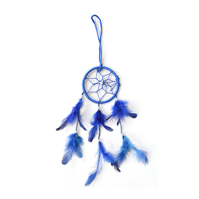 Dream Catcher Magnificence - Small Dia 3inch, Blue, 1pc