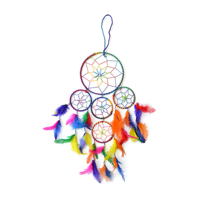 Dream Catcher Delight - Big Dia 6inch, Multicoloured, 1pc