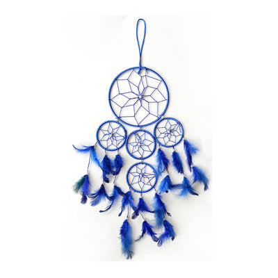 Dream Catcher Delight - Big Dia 6inch, Blue, 1pc