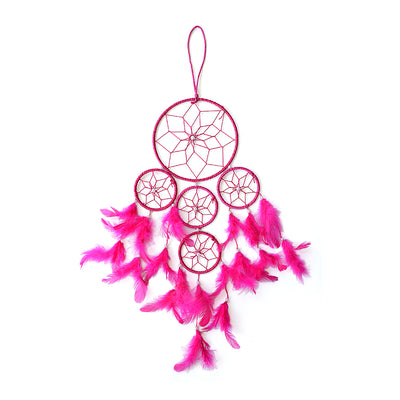 Dream Catcher Delight - Big Dia 6inch, Pink, 1pc
