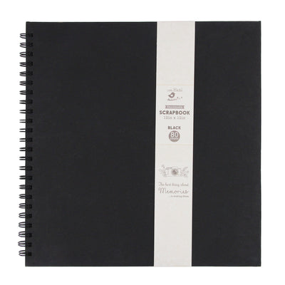 Scrapbook Album 12 x 12 inch - Black, 40 Sheets