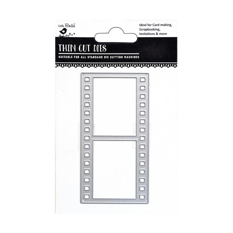 Thin Cut Dies- Film Strip, 1Pc