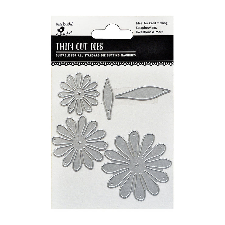 Thin Cut Dies- Florina, 5Pc