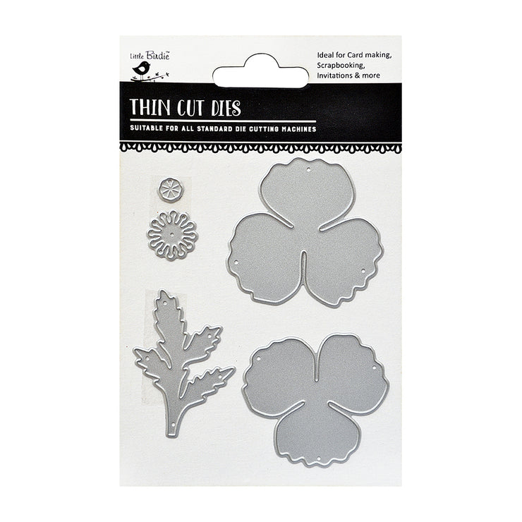 Thin Cut Dies- Floris, 5Pc