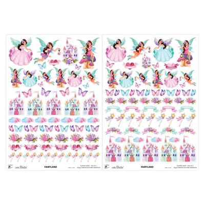 Element Sheet- Fairyland, 250gsm, 2 Sheets