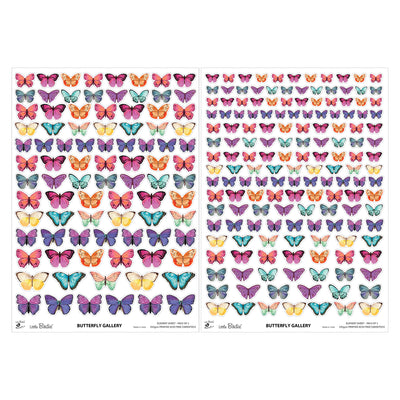 Element Sheet- Butterfly Gallery, 250gsm, 2 Sheets