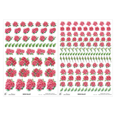 Element Sheet- Rose Valley, 250gsm, 2 Sheets