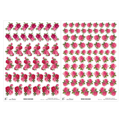 Element Sheet- Rose Cascade, 250gsm, 2 Sheets