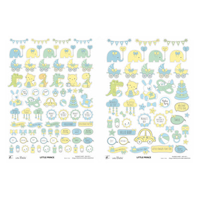 Element Sheet- Little Prince, 250gsm, 2 Sheets