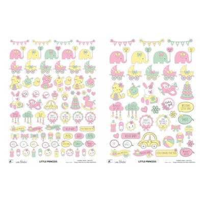 Element Sheet- Little Princess, 250gsm, 2 Sheets