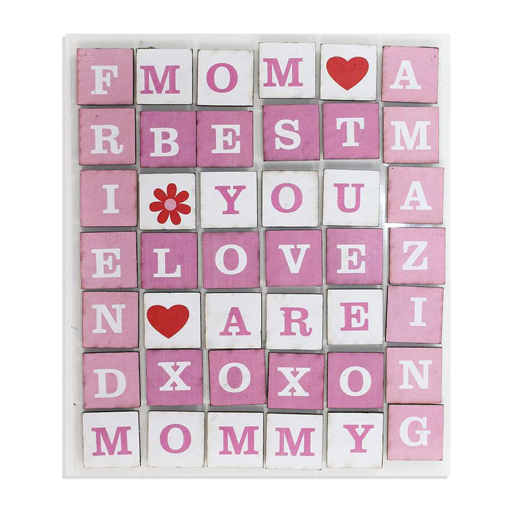 Chipboard - Amazing Mom, Letter Stickers
