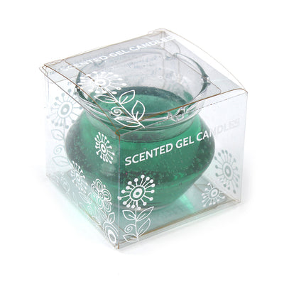 Scented Gel Candle -Green