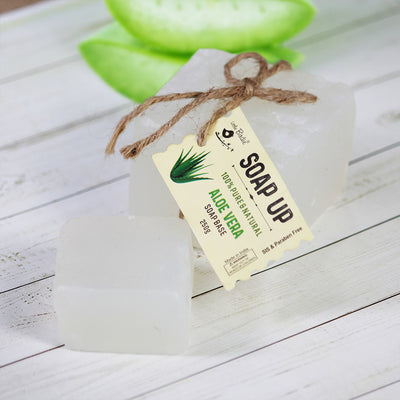 Soap Base 250gm - Aloe Vera