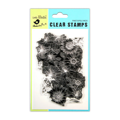 Clear Stamps -  Floral Mellow, 4.5x6.5inch, 1Pc