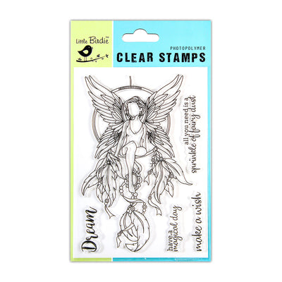Clear Stamps -  Fairy Dust, 4.5x6.5inch, 5pcs