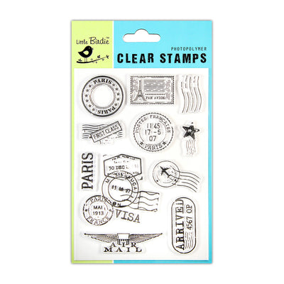 Clear Stamps -  Postal Special, 4.5x6.5inch, 10pcs