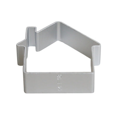 Aluminium Cookie Cutter - House